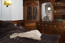 The schooner Atlantic, guest en-suite stateroom with desk...
